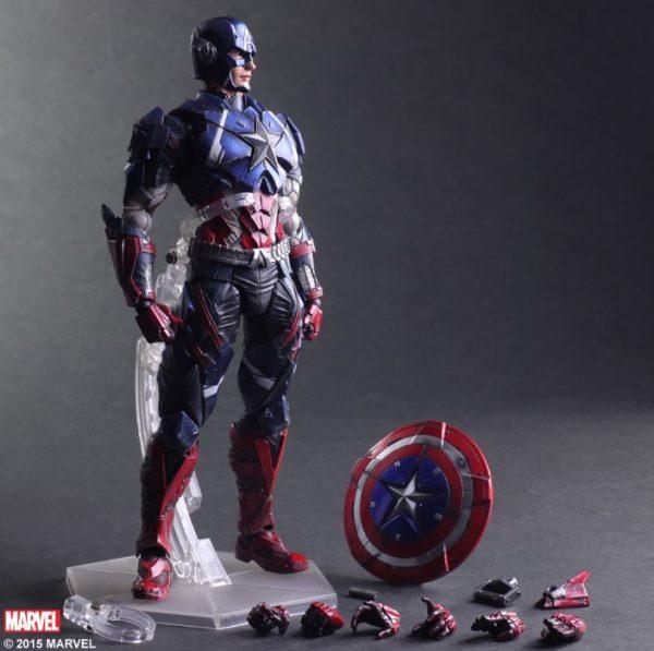 mo hinh Captain America