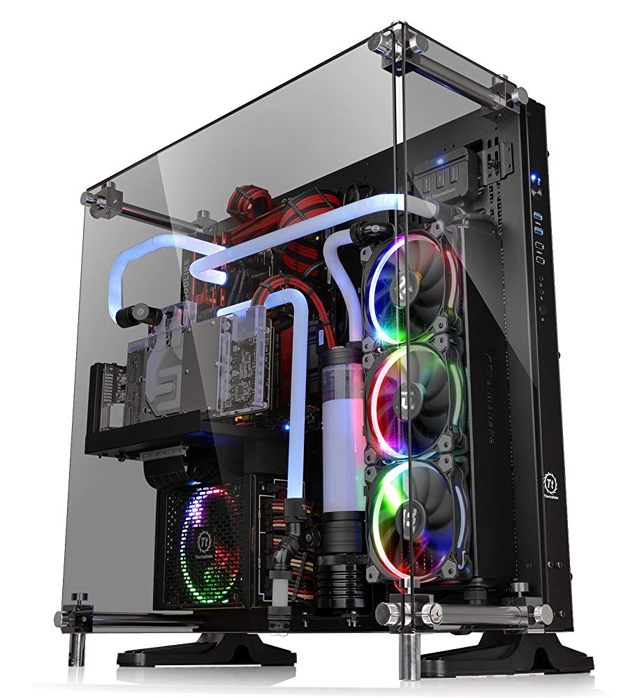 Thermaltake Core P5 Tempered Glass Black Edition