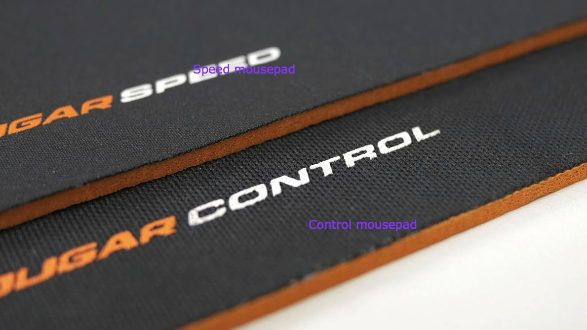 mousepad speed vs control